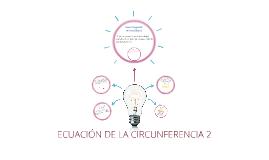 ECUACIÓN DE LA CIRCUNFERENCIA 2