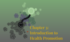 Chapter 3: Introduction to Health Promotion