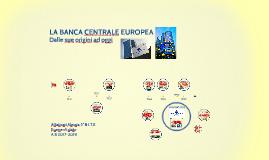 Copy of LA BANCA CENTRALE EUROPEA