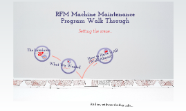 Machine Maintenance Program Simulation