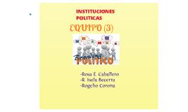 Copy of Copy of INSTITUCIONES POLÍTICAS