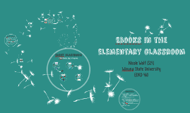 EBooks in the elementary classroom