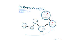 Life Cycle of a Violation
