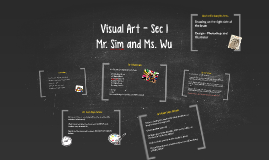 Visual Art - Sec 1