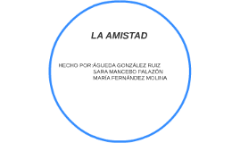 Copy of LA AMISTAD