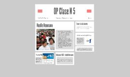 OP Clase N 5