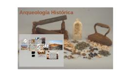 Arqueología Histórica