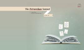 The Petrarchan Sonnet