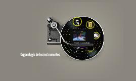 Copy of Organología de los instrumentos