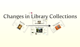 Changes in Library Collections