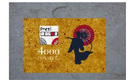 Prezi Nippon 4000 「いいね!」 記念