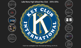 Copy of LNHS KEY CLUB FRESHMEN AND SOPHOMORES