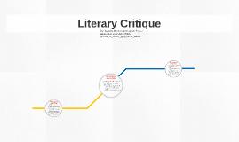 Literary Critique