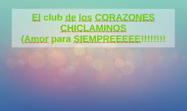 El club de los CORAZONES CHICLAMINOS
