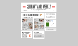 CULINARY ARTS WEEKLY
