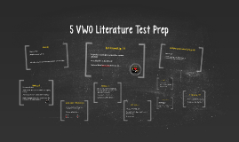 5 VWO Literature Test Prep