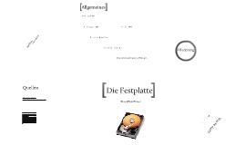 Copy of Die Festplatte