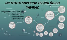 INSTITUTO SUPERIOR TECNOLÓGICO YAVIRAC