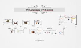 De Gutenberg a Wikipedia