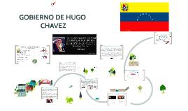 GOBIERNO DE HUGO CHAVEZ