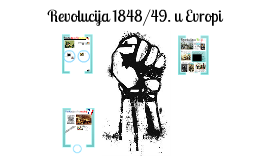 Copy of Revolucija 1848/49. u Evropi