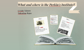 What and where is the Perkin's Institute?