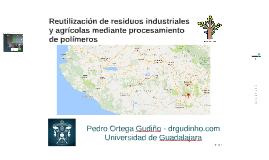 Reutilización de residuos industriales y agrícolas mediante procesamiento de polímeros