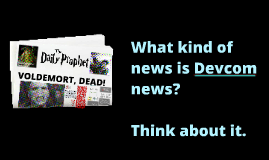 What is News (Part 1)