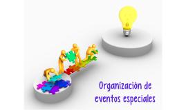 Copy of Organización de eventos especiales
