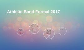 Athletic Band Formal 2017