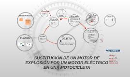 SUSTITUCIÓN DE UN MOTOR DE ECXPLOSIÓN POR UN MOTOR ELÉCTRICO
