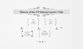 History of the UP Entrepreneurs' Club