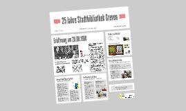25 Jahre Stadtbibliothek Greven