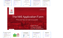 Th NHS Application Form