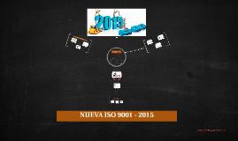 NUEVA ISO 9001 - 2015