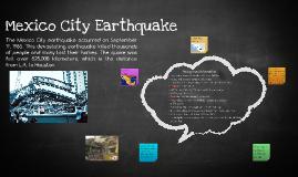 Mexico City Earthquake - Group 5