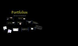 Copy of Dr. Sanders Portfolios Prezi