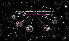 Sigma Lambda Gamma National Sorority,  OD Chapter