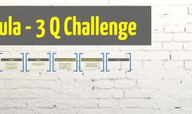 Emperical Formula - 3 Q Challenge