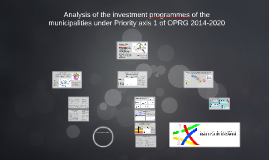 Analysis of investment programs - PA1 of OPRG