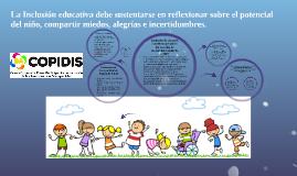 Inclusiòn de alumnos con discapacidad en las escuelas de mod