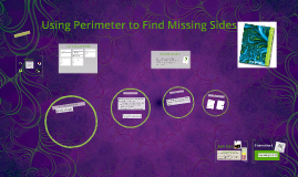 Using Perimeter to Find Missing Sides