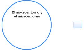El macroentorno y el microentorno