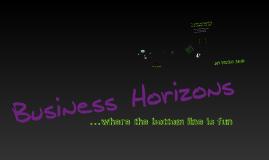 Business Horizons 2011