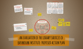 LIBRARY SERVICES OF BAYANIHAN INSTITUTE