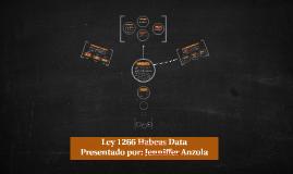 Ley 1266 Habeas Data