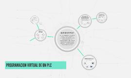 PROGRAMACION VIRTUAL DE UN PLC