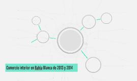 Comercio interior en Bahia Blanca de 2013 y 2014