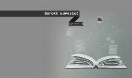 Copy of Barokk művészet