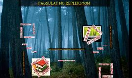 Copy of PAGSULAT NG REPLEKSYON